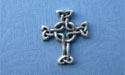 Lendlefoot Cross Lapel Pin - Lead Free Pewter