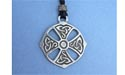 Ardagh Chalice Cross Lead Free Pewter Large Pendants c/w Cord