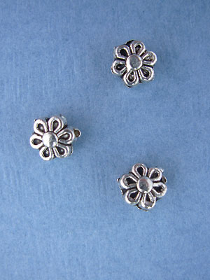 Daisy Bead - Base Metal