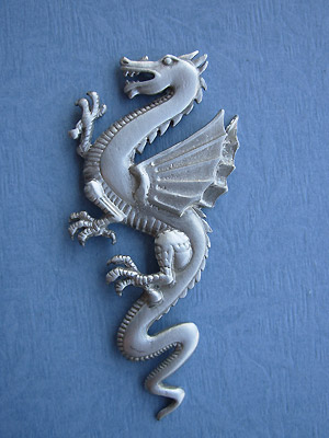 Dragon Brooch - Lead Free Pewter
