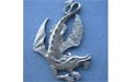 Swooping Dragon Brooch - Lead Free Pewter
