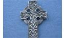 Highland Cross Brooch - Lead Free Pewter