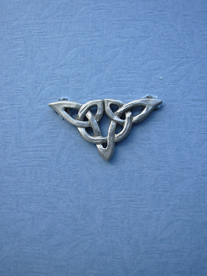 Ulbster Knot Brooch - Lead Free Pewter