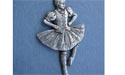 Single Highland Dancer Brooch - Lead Free Pewter