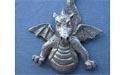Flying Dragon Brooch - Lead Free Pewter