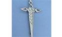 Celtic Sword Kilt Pin Lead Free Pewter