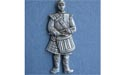 Drummer w/ Small Hat Brooch - Lead Free Pewter