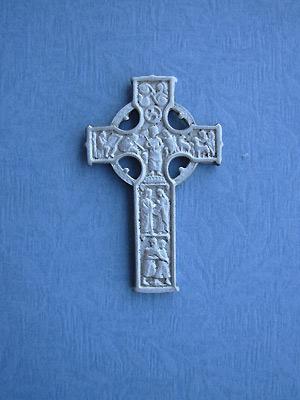 Brotherhood Cross Brooch - Lead Free Pewter