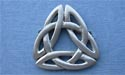 Triquetra Knot Brooch - Lead Free Pewter