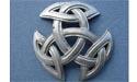 Breton Celtic Knot (Lg) Brooch - Lead Free Pewter