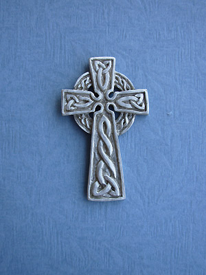 Trinity Cross Brooch - Lead Free Pewter