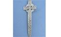 Eternity Cross Kilt Pin Lead Free Pewter