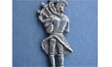 Piper - Comical Brooch - Lead Free Pewter