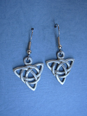 Celtic Charm - Lead Free Pewter Dangle Earrings