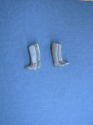 English Riding Boots - Lead Free Pewter Stud Earrings