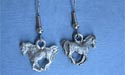 Frisky Foal - Lead Free Pewter Dangle Earrings