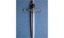 Stone and Dagger Kilt Pin - Lead Free Pewter
