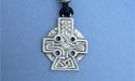 Cross of Strength Lead Free Pewter Medium Pendant c/w Cord