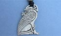 Guardian Griffins Lead Free Pewter Medium Pendant c/w Cord