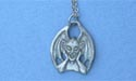 "Gargoyle w/ Wings Lead Free Pewter Pendant c/w 18"" Chain"