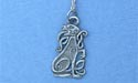 "Celtic Dog Lead Free Pewter Small Pendant c/w 18"" Chain"