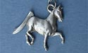 "American Saddlebred Lead Free Pewter Pendant c/w 18"" Chain"