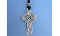 Trinity Cross Lead Free Pewter Medium Pendant c/w Cord