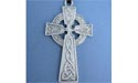 Trinity Cross Lead Free Pewter Extra Large Pendants c/w Cord