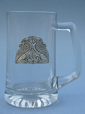 Guardian Griffins Beer Mug - Lead Free Pewter