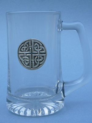 Protection Knot Beer Mug - Lead Free Pewter