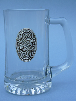 Friendship Oval Beer Mug - Lead Free Pewter