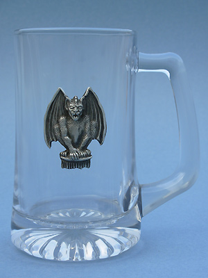 Gargoyle Beer Mug - Lead Free Pewter
