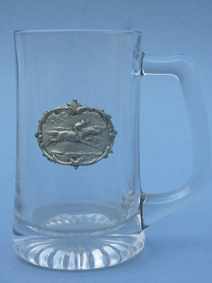 English Hunt Beer Mug - Lead Free Pewter
