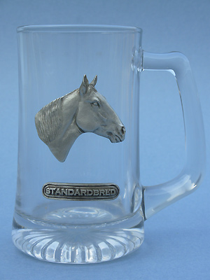 Standardbred Beer Mug - Lead Free Pewter