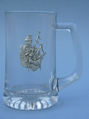 Piper Beer Mug - Lead Free Pewter