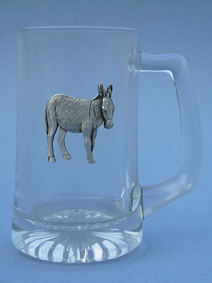 Donkey Beer Mug - Lead Free Pewter