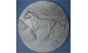 Running Horse Each Coaster - Lead Free Pewter