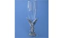 Dragon on Stem of Champagne Glass - Lead Free Pewter