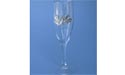 Solid Maple Leaf Champagne Glass - Lead Free Pewter