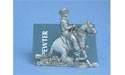 Reining Horse Business Card Holder Lead Free Pewter