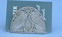 Celtic Griffins Business Card Holder - Lead Free Pewter