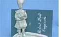 Drummer Business Card Holder - Lead Free Pewter
