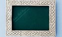 3.5x5 Celtic Design Picture Frame - Lead Free Pewter
