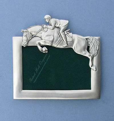 4x6 Jumper Picture Frame - Lead Free Pewter