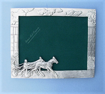 8x10 Sulky Picture Frame - Lead Free Pewter