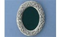 2x3 Celtic Oval Picture Frame - Lead Free Pewter