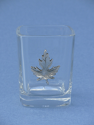 Maple Leaf Shot Glass - Lead Free Pewter