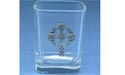 Meditation Cross - Lead Free Pewter Shot Glass