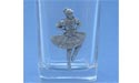 Highland Dancer Shot Glass - Lead Free Pewter