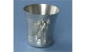 Solid Lead Free Pewter Shot Glass w/ Horse Head